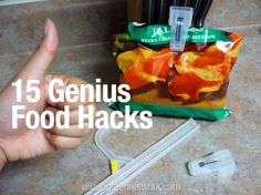 We found 15 awesome food hacks you are going to love. These creative ideas will definitely make your life in the kitchen a lot easier.
