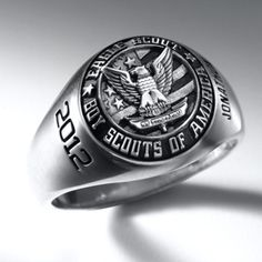 Eagle Scout Signet Ring
