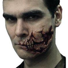 [Zombie Prosthetics FX: Box 4: Ripped Face (Product Image)]