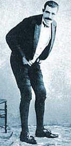 odd fascin, white photo, crazi black, funni thing, famous farter, joseph pujol