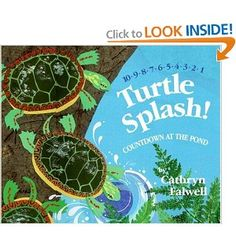 ponds, countdown, turtl bookturtl, turtle books, pond paperback, cathryn falwel, pond life, kid book, bookturtl splash