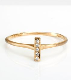 Catbird::shop by category::JEWELRY::Rings::Bar Ring
