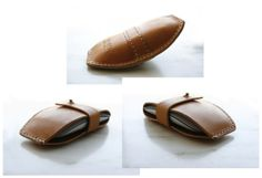 LORAY:N handmade leather camera accessories & more: mxs LEATHER MAGIC MOUSE CASE