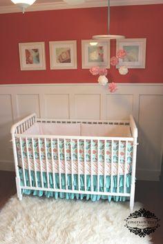 I like the pom mobile idea for nursery