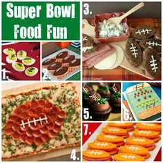 Super Bowl Food Fun