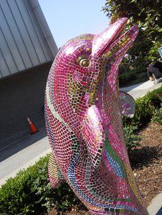 Mirror Mosaic Dolphin       #mosaic #animals #art