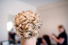 wedding hair updo :)
