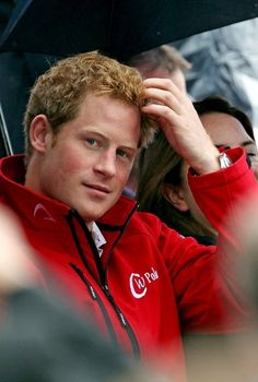 Prince Harry at the Olympic Games, love this guy!