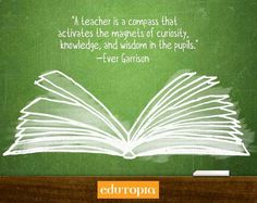 A teacher is a compass... #SONICLFL #quote