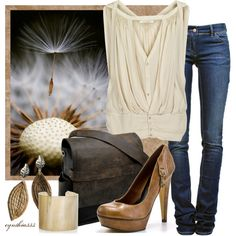 """Neutrals"" by cynthia335 on Polyvore"
