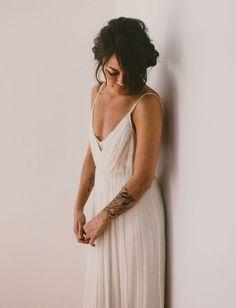 A Wedding at an Abandoned Church: Paige + John   Green Wedding Shoes Wedding Blog   Wedding Trends for Stylish + Creative Brides
