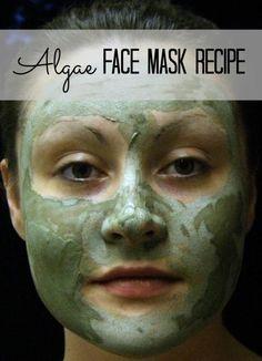DIY Homemade Green Algae Nourishment Mask Recipe