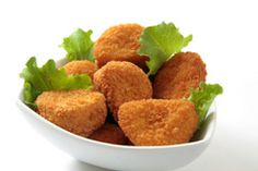 Low-calorie Baked Chicken Nuggets with IsaCrunch