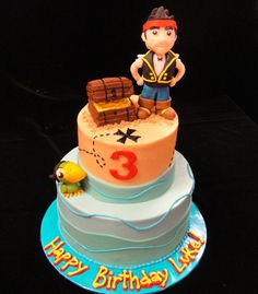 Jake and the Neverland Pirates Birthday cake :)