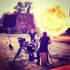 Shinedowns Nation: Shinedown Video Shoot for I'll Follow You.