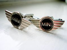 Mini Cufflinks  Stainless steel by LondonDesign on Etsy, £10.99
