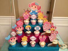 parti lalaloopsi, birthday parti, girl parties, pirate birthday, lalaloopsi cupcak, lalaloopsi parti, parti idea, cupcake towers, birthday ideas
