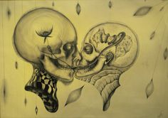 "Maja Petrović Babić; Pencil, Drawing "" delusion"""