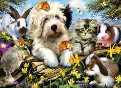 Furry Friends Puzzle by Clementoni