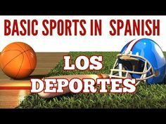Spanish videos for kids: This video includes common Spanish vocabulary and common Spanish sentences for talking about sports in Spanish. Nice and clear for kids learning Spanish. https://www.youtube.com/watch?v=M8YoV320DcM&feature=youtu.be
