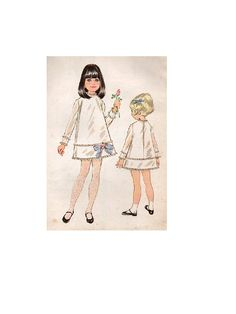 McCall's 8995 Sewing Pattern Retro 60s by AdeleBeeAnnPatterns, $10.00