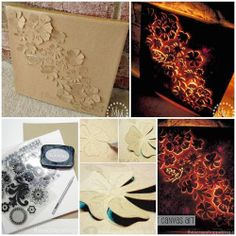 DIY Backlit Canvas Art | DIY  Crafts Tutorials wow this is really really cool