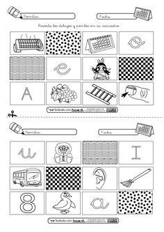 """Bingo de vocales Método de lectoescritura """"Actiludis"""""""