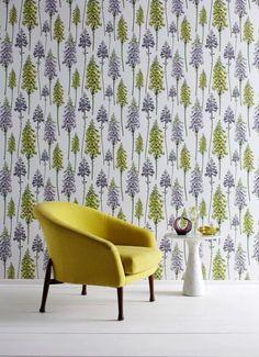 Cute pine tree wallpaper