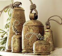 ~Old Bells decor, idea, antiqu bell, potteri barn, bells, barns, vintag bell, pottery barn, collect