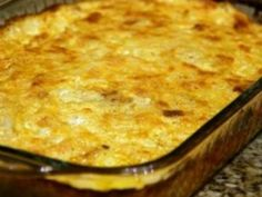 Hashbrown casserole Delicious served with Christmas Breakfast Pie