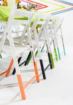 When I Dip, You Dip, We Dip — Chairs Edition! via Brit + Co.