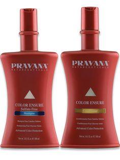 Color Ensure shampoo y acondicionador