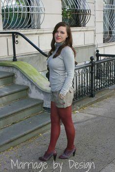 tights w/ shorts <3