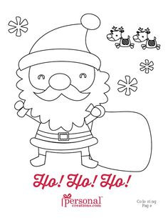 Printable Christmas Coloring Pages for Kids - Christmastime is full of fun and festive activities. Here are some holly, jolly coloring pages to keep your munchkins busy and in the holiday spirit. They can even leave them out as a present for Santa!