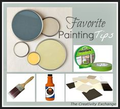 Painting Tips- Painting Tricks