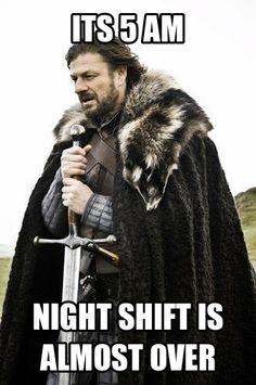 night shift problems. Tic tok