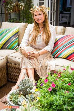Shirley Bovshow shows off Home & Family  VIEWER gardens on Friday, July 23 on Hallmark Channel!