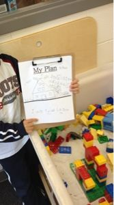 Starting Documentation-ask the children to make a plan