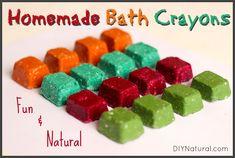 Homemade Bathtub Crayons Kids Will Love