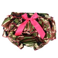Camo Pink Bow