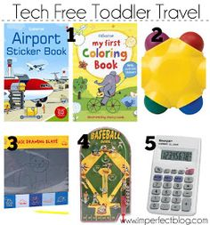 imperfect: Tech Free Toddler Travel