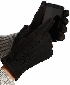 Isotoner Gloves, Smart Tech Touch Stretch