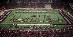 Texas Tech Red Raiders - The Goin' Band from Raiderland is a 400-plus member marching band that was established in 1925.