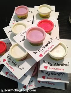 """awww I should have made these for daycare!!  """"Doh"""" you want to be my Valentine?"""