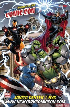Marvel creates poster for New York Comic Con