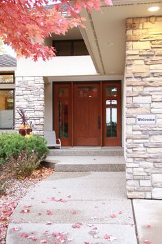 Exterior Doors On Pinterest Entry Doors Craftsman And Red Front Doors