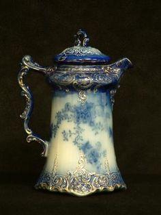 Salado Creek Antiques - La Belle Chocolate Pot