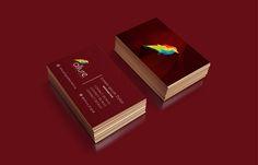 Allure Digital Business Card #branding #visualidentity #logodesign #corporateidentity #stationery