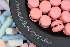 French Macaron Recipe...pink!