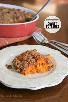 Pioneer Woman's Sweet Potatoes -- Pinned for topping recipe!  I don't usually sweeten the potatoes themselves, just the topping.  And not sure if I'd use the eggs but I'm interested to know what it does to the taters.